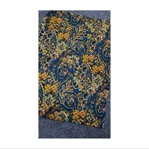 Lularoe Cassie Pencil Skirt in Golden Fall Print
